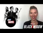Natasha & Yelena's Road Trip Playlist?! - Ask Marvel
