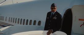 Rhodes en el Avión