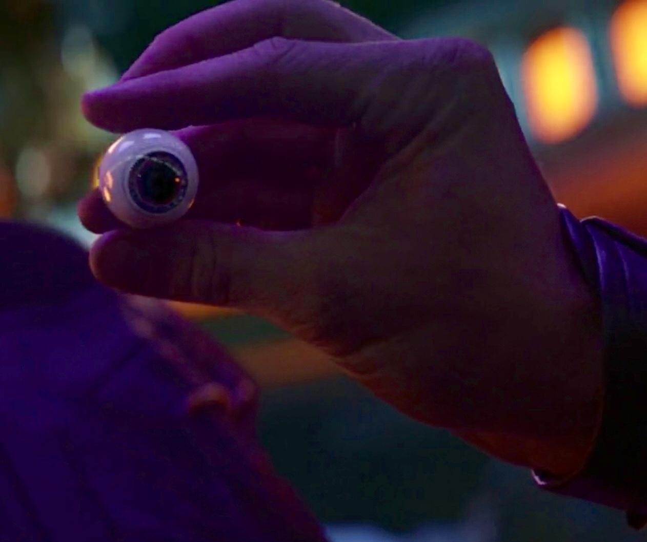 Thor's Prosthetic Eye