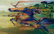 Avengers Infinity War - Mini Póster 1