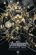 Avengers Infinity War mondo poster 1