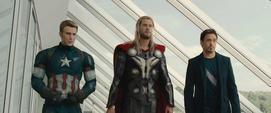Cap Thor y Tony Final AOU