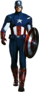 Captain America Avengers Uniform