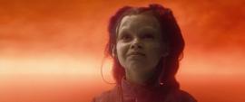 Gamora escucha a Thanos en el Mundo del Alma