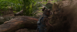 Rocket ve desaparecer a Groot
