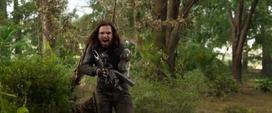 Barnes confronta a Thanos