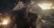 Thanos se desintegra