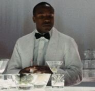 Bartender at Charity Ball 2
