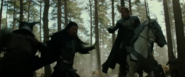 Hogun and Fandral fight