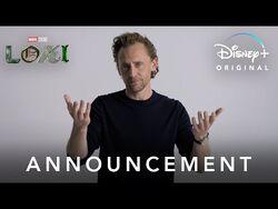 Announcement - Marvel Studios' Loki - Disney+
