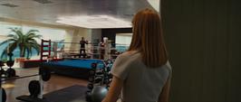 Potts en el gimnasio de la mansión