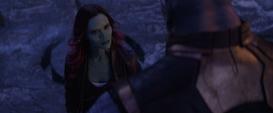 Gamora se burla de Thanos