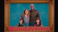 WandaVision Family Portrait