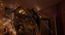 Yellowjacket siendo eliminado