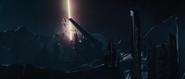 Jotunheim siendo destruído por el BIfrost