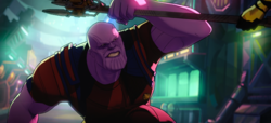 Thanos catches Proxima's spear.png