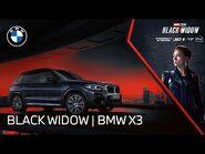 The BMW X3 meets Marvel Studios' Black Widow - BMW USA