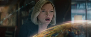 Romanoff ayuda a localizar a Thanos