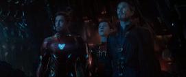 Stark con Strange y Parker