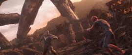 Thanos confronta a Parker