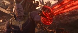 Thanos es atrapado por Strange