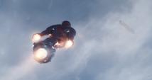 Stark vuela con nueva armadura