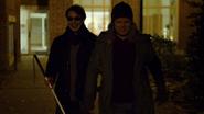 Murdock y Nelson caminando