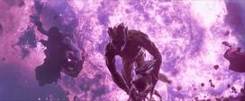 Groot y Rocket Explosion