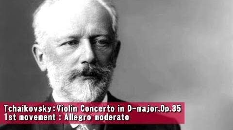 Tchaikovsky:Violin Concerto in D-major,Op