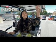 Awkwafina's Golf Cart Tour - Marvel Studios' Shang-Chi and The Legend of The Ten Rings