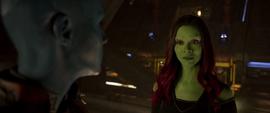 Gamora se disculpa por los errores que cometió en el pasado