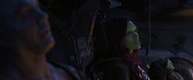 Gamora canta en el Benatar