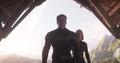 Rogers y Romanoff llegan para confrontar a Thanos