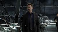 Stark en el Helicarrier