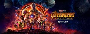Avengers Infinity War - Banner oficial