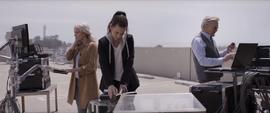 Hank, Hope y Janet en un prueba para cosechar energía cuántica
