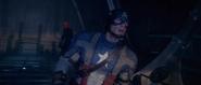 Capitan America buscando a Craneo Rojo