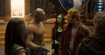 Quill y Drax hablan del cuerpo de Ego