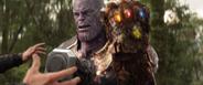 Thanos antes de irse de Wakanda