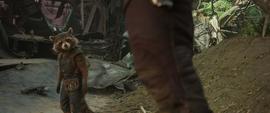 Groot sentado