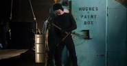 Murdock en una misión con Stick