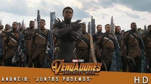 Vengadores Infinity War de Marvel Anuncio 'Juntos podemos' HD
