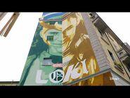 Disney+ - Loki - Il murales realizzato da Lucamaleonte