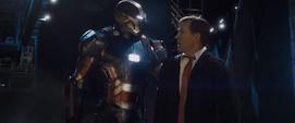Iron Patriot y Ellis