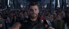 Thor decide que los Asgardianos deben ir a la Tierra