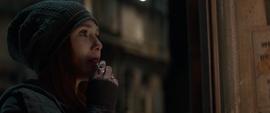 Wanda viendo las noticias de lo sucedido en NY