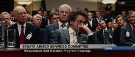 Tony Stark ante el senado de EEUU - 4 - Iron Man 2