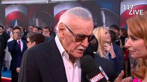 Stan Lee Recruits Captain America to Team Stan