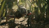 Ant-Man y Antony entrenando