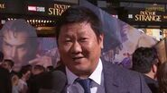 Benedict Wong Talks Bringing Wong to Life at Marvel's Doctor Strange Premiere